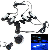 4 LED Car Interior Charge Accessories Floor Decorative Atmosphere Lamp Light UK