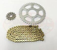YAMAHA XT125 X GOLD Heavy Duty Chain and Sprocket Kit 2005 - 2009