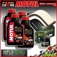Oil Replacemenet Kit MOTUL 7100 10W40 + Filters Kawasaki ZX-10R 1000 Ninja 2007