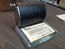 Postcard printer, Heyer Lettergraph, very rare & collectible