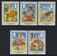 1994 GB PICTURE POSTCARDS CENTENARY SET OF 5 FINE MINT MNH/MUH SG1815-SG1819