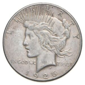 1926-S Peace Silver Dollar - US Coin *560