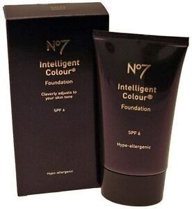 No7 Intelligent Colour Foundation by No7 - CHOOSE SHADE - BRAND NEW Box