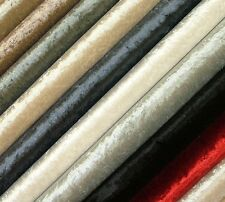 Premium Soft Crushed Velvet Fabric - Ideal For Curtain Upholstery Cushions Blind