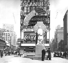 1937-Times Sq. New York-Statue-Irish Priest Father Francis P. Duffy-69 Infantry