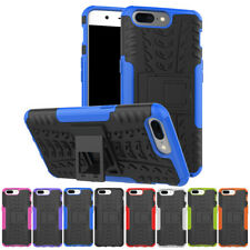 For OnePlus 5 Case Armor Rugged Shockproof Hybrid PC + TPU Kickstand Hard Cover