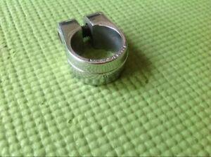 "Suntour Seat post clamp Japan- Silver- Old School BMX FIT Post 1"""