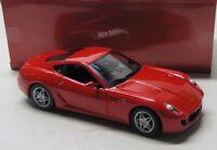 Ferrari 599 GTB Fiorano ( 2006 ) rot / Hot Wheels 1:18