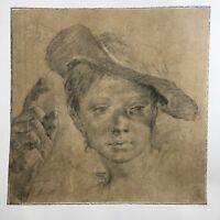 Giovanni Battista Piazzetta Art Print Limited Edition Albertina Facsimile Rare