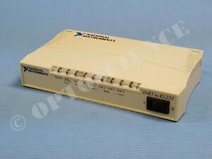 National Instruments NI USB-232/4 Serial Port Adapter RS-232, 4 DB9 Ports