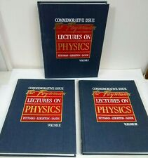 The Feynman Lectures on Physics: Commemorative Issue, Three Volume Set NEW