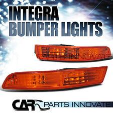 Acura 94-97 Integra JDM Bumper Lights Turn Signal Park Lamp Amber