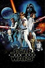 Star Wars New Hope 1 Poster Canvas Picture Art Print Premium Quality