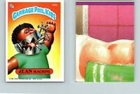 1986 SERIES 5 TOPPS GPK GARBAGE PAIL KIDS 186b JEAN MACHINE