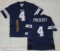 NWT! NFL DALLAS COWBOYS DAK PRESCOTT #4 Jersey Youth Kids Boys Girls XS,S