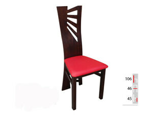 Solid Wood Chair Dining Designer Leather Room K56