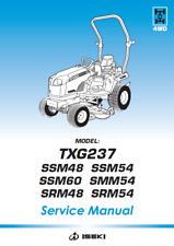 Iseki TXG237 Tractor Service Manual (0486)