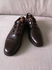 Mens Brown Leather Oxford Style Lace up Shoes. UK 10.