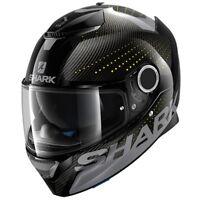 New Spartan Cliff DAY Shark Full face helmet - Carbon Skin Motorcycle Helmet