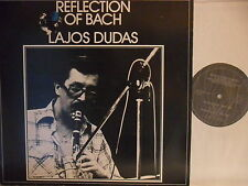 Lajos Dudas - Reflection of Bach - LP 1977 D - Metram 02 216