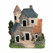 Mini Resin House Miniature Fairy Garden Micro Landscape Home Garden Decoration