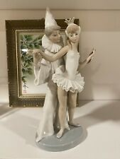 New ListingLovely Vintage Ladro Carnival Couple Clown And Ballerina