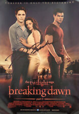 (RARE) AUTOGRAPHED - 'Twilight: Breaking Dawn Part 1' (Paul Becker) Poster + COA