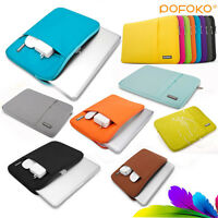 "Notebook Sleeve Case Carry Bag Pouch Cover For 11"" 12"" 13"" 15"" MacBook Air/Pro"