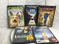 Lot Of 5 DVD Movies BY 20th Century Fox Night At The Museum Irobot Millions