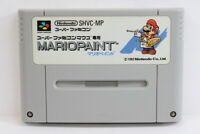 Mario Paint SFC Nintendo Super Famicom Mouse SNES Japan Import US Seller I5390