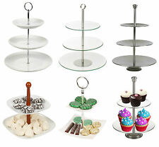2 3 4 Tier Pastry Pie Stand Decorative Wedding Cake Cupcake Platform Plate NEW