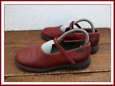 Chaussures Derby CAMPER Femme - Cuir bordeaux - Eu 40 / US 10 - NICKEL !!!!!