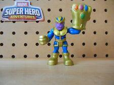 Playskool Super Hero Adventures THANOS POWER-UP Infinity Gauntlet Endgame War