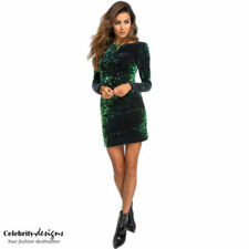 Boat Neck Short Sleeve Dresses for Women with Sequins