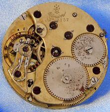 Super High Grade Union Glocke Glashutte Pocket Watch Movement