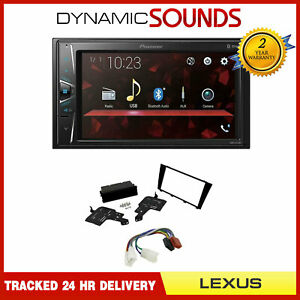 "Pioneer 6.2"" Bluetooth Android Stereo Upgrade Kit for Lexus IS 200 IS 300"