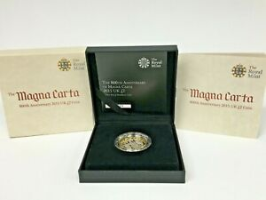 The Royal Mint 'The Magna Carta' 800th Anniversary 2015 UK £2 Piedfort Coin