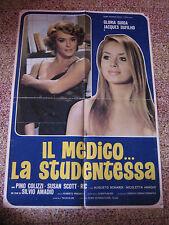 il medico e la studentessa GLORIA GUIDA COLIZZI AMADIO SOGGETTONE 100X70CM