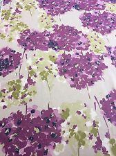 MASSIVE REMNANT SoftFurnishing Romo Purple/Green Approx 139x286cm