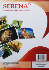 Serena Professional Inkjet Photo Paper Micro-porous Satin A4 260gsm - Pack of 25