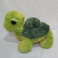 "Turtle Green Plush Stuffed Animal Toy 7"" Aurora Big Eyes"