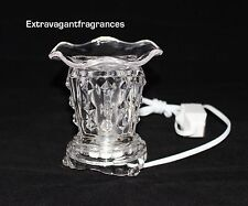 Electric aroma burner Glass incense oil burner