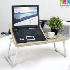 Tavolino Vassoio da Letto Divano per Notebook PC Laptop Pieghevole Leggio 65x30