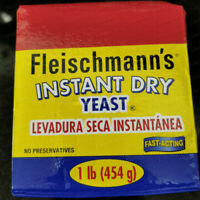 Fleischmann's Instant Dry Yeast - 1 Pound - Free Priority Shipping -Exp Mar 2022