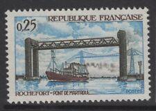 France Sg1799 1968 Inauguration Of Martrou Bridge Mnh
