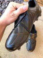 BLACKOUT ADIDAS PREDATOR MANIA FOOTBALL BOOTS UK 9 - ACCELERATOR PRECISION