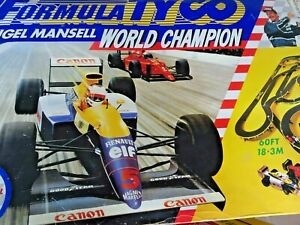 Formula Tyco Nigel Mansell World Champion 1990 Spare Track Parts Spares