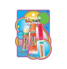 LIP SMACKER* 3pc Set TROPICAL Balm+Squeezy+Liquid Gloss SKITTLES New Style 1b