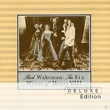 RICK WAKEMAN - THE SIX WIVES OF HENRY VIII (DLX CD/DVD)  CD + DVD NEW+