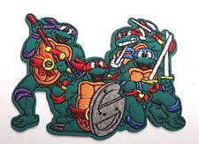 """Teenage Mutant Ninja Turtles Cartoon 4"""" Embroidered Patch-FREE S&H(TMNTPA-02)"""